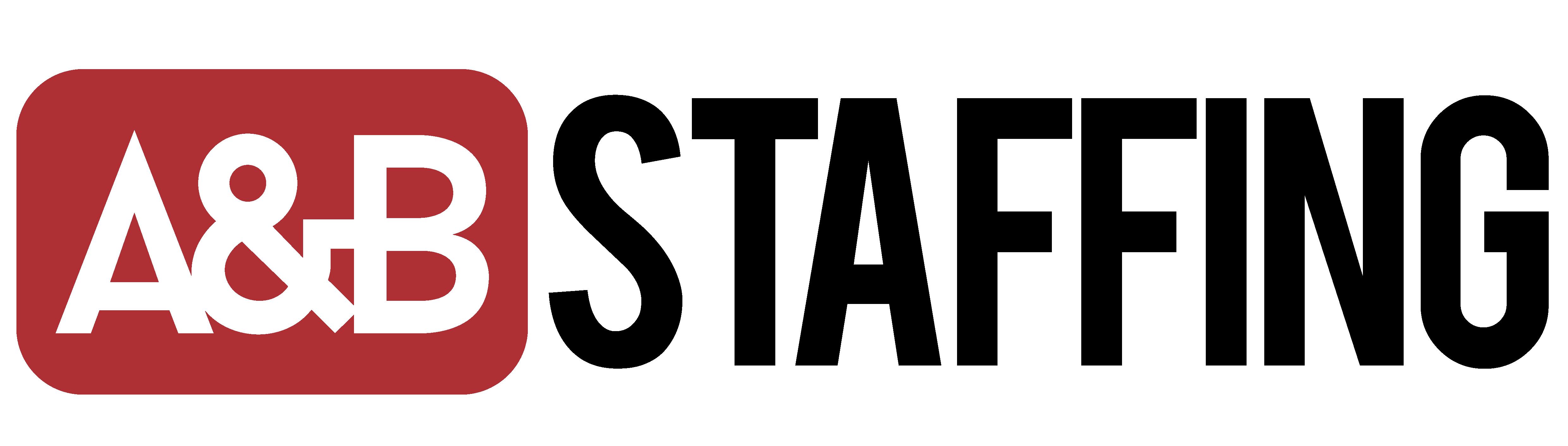 A&B Staffing Logo SM